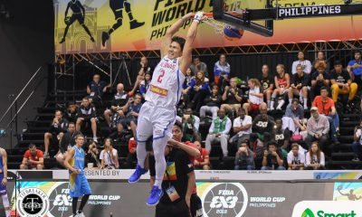 Tiebreaker Times David Carlos advances to final stage of 3x3 Slam Dunk Competition 2018 FIBA 3X3 World Cup News  Smoove Krivenko Miller Poddubchenko Guy Dupoy 2018 FIBA 3X3 World Cup Side Events