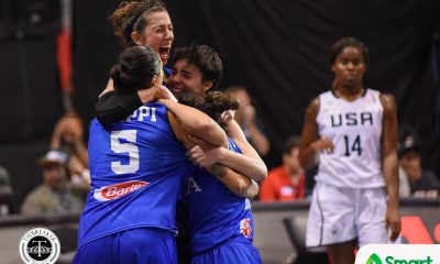 Tiebreaker Times Italy stuns USA, sets up showdown with China; Russia takes on France 2018 FIBA 3X3 World Cup 3x3 Basketball News  Zhang Zhiting USA (Basketball) Russia (Basketball) Rae Lin D'alie Italy (Basketball) France (Basketball) Christelle Diallo Anna Lashkovtseva 2018 FIBA 3x3 World Cup - Women's