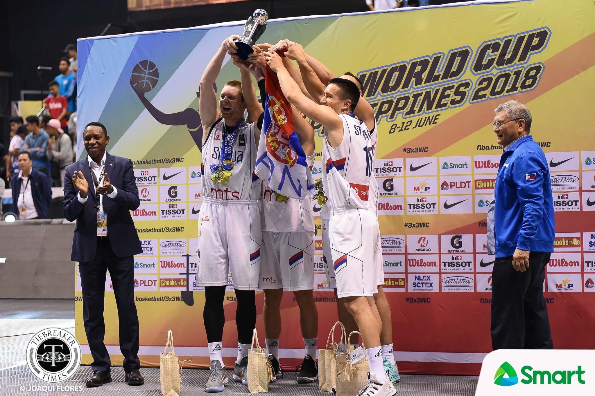 Tiebreaker Times Serbia's advice on Philippines' 3X3 program: 'They need to work hard' 2018 FIBA 3X3 World Cup 3x3 Basketball News  Serbia (Basketball) Dusan Bulut Dejan Majstorovic 2018 FIBA 3X3 World Cup - Men's