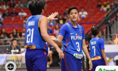 Tiebreaker Times Bernardino's stellar game not enough as Gilas suffers defeat at hands of Korean club Basketball Gilas Pilipinas News  Patrick Aquino Mei-Lyn Bautista Korea National Bank KB Stars Jack Animam Gilas Pilipinas Women Afril Bernardino 2019 William Jones Cup
