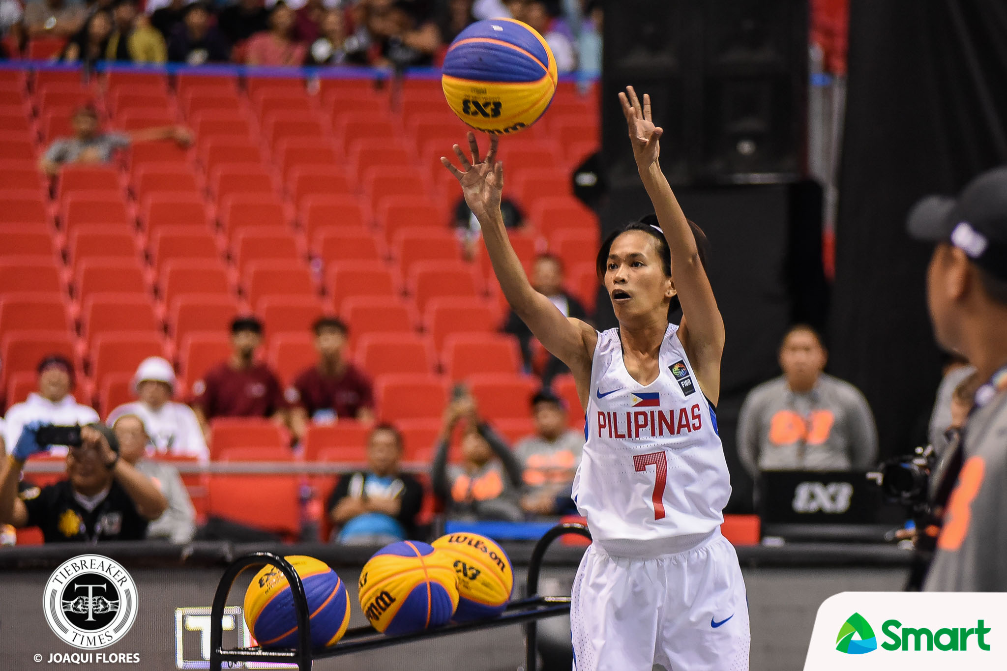 Tiebreaker Times Janine Pontejos overcomes nerves to win Philippines' first-ever 3x3 World Cup gold 2018 FIBA 3X3 World Cup 3x3 Basketball News Perlas Pilipinas  Janine Pontejos 2018 FIBA 3X3 World Cup Side Events