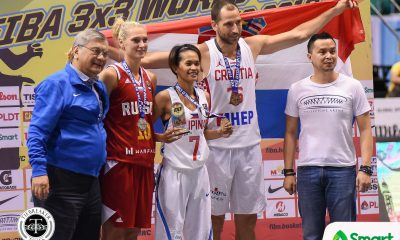 Tiebreaker Times Janine Pontejos bags 3X3 World Cup Shoot-out gold 2018 FIBA 3X3 World Cup 3x3 Basketball News  Marin Hrvoje Maksim Dybovski Janine Pontejos Alexandra Stolyar 2018 FIBA 3X3 World Cup Side Events
