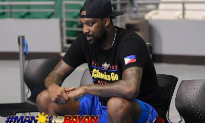 Tiebreaker Times Andray Blatche unfazed by Thon Maker's arrival 2019 FIBA World Cup Qualifiers Basketball Gilas Pilipinas News  Thon Maker Gilas Elite Andray Blatche 2019 FIBA World Cup Qualifiers Group B 2019 FIBA World Cup Qualifiers