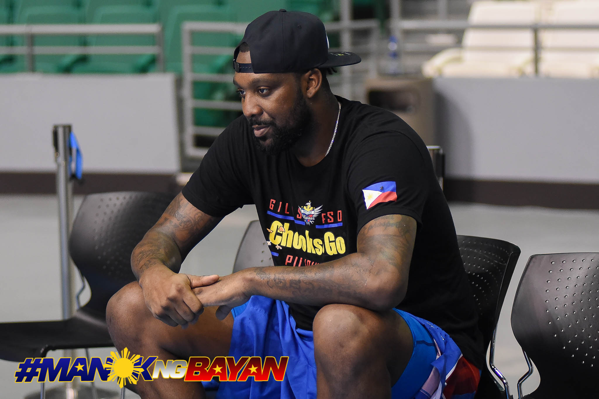 Tiebreaker Times War Ready: Andray Blatche expresses desire to suit up for Gilas once again Basketball Gilas Pilipinas News  Andray Blatche 2019 FIBA World Cup Qualifiers