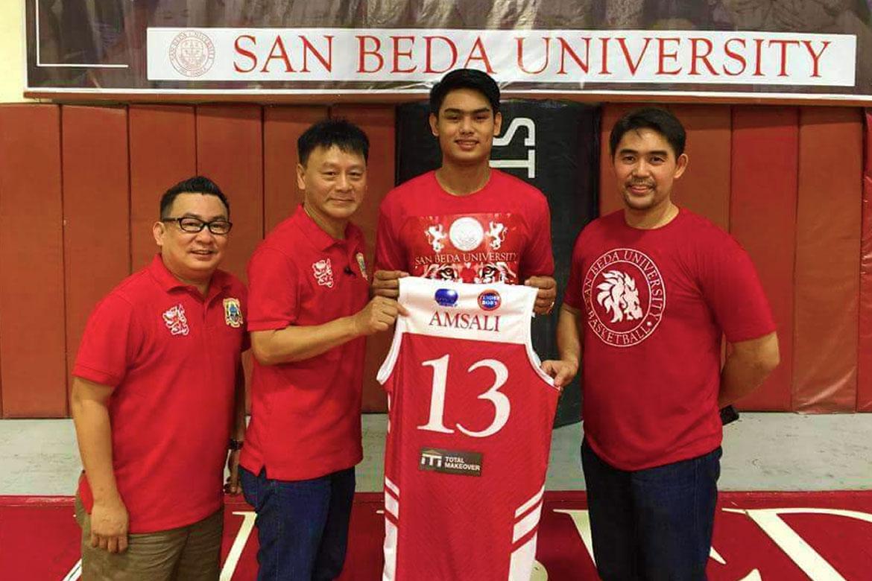 Tiebreaker Times How MVP helped Rhayyan Amsali during down year Basketball News SBC  San Beda Juniors Basketball Rhayyan Amsali Manny V. Pangilinan