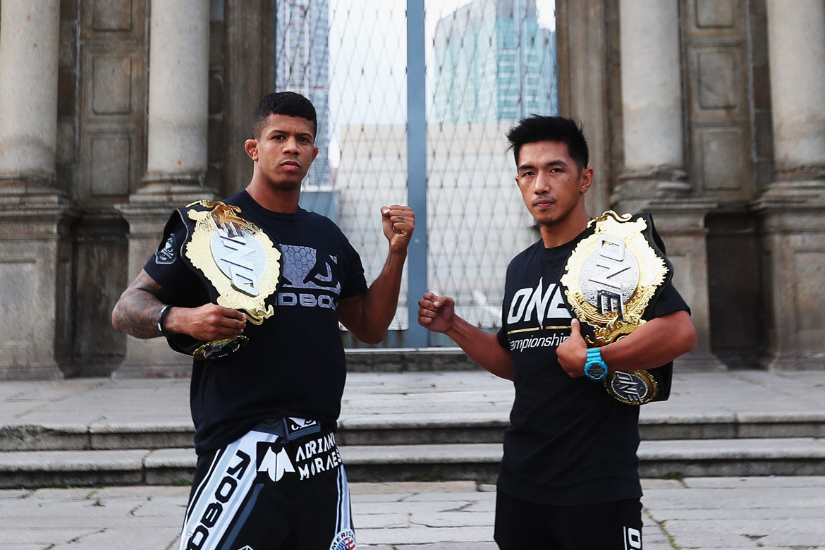 Tiebreaker Times Geje Eustaquio faces off against Adriano Moraes: 'There can only be one champion' Mixed Martial Arts News ONE Championship  Team Lakay Rodian Menchavez ONE: Pinnacle of Power Narantungalag Jadambaa Ma Hao Bin Kai Wen Li Geje Eustaquio Edward Kelly Danny Kingad Adriano Moraes
