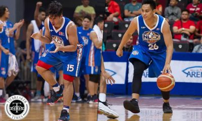 Tiebreaker Times Kiefer Ravena gives advice to Mac Tallo: 'Just play your game' Basketball News PBA  PBA Season 43 NLEX Road Warriors Mac Tallo Kiefer Ravena 2018 PBA Commissioners Cup