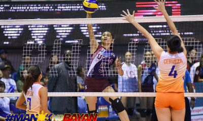 Tiebreaker Times Nicole Magsarile shines for reloaded Lady Maroons in PSL debut News PSL UP Volleyball  United Auctioneers-UP Lady Maroons Nicole Magsarile 2018 PSL Season 2018 PSL Invitational Cup