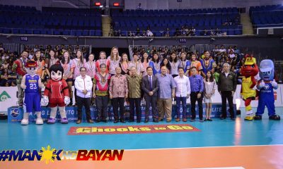 Tiebreaker Times PSL honors PWNVT during Invitational Cup opening ceremony News PSL Volleyball  Larong Volleyball ng Pilipinas Incorporated Joey Romasanta 2018 PSL Season 2018 PSL Invitational Cup