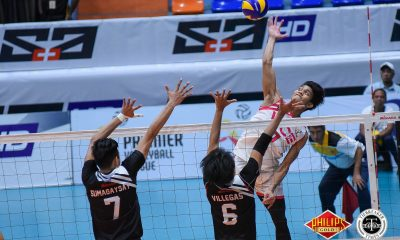 Tiebreaker Times Vice Co. endures Air Force, Fauzi Ismail's 40-point explosion to enter semis News PVL Volleyball  Vice Co. Blockbusters Rikko Marmeto Rey Diaz RanRan Abdilla Pao Pablico Owen Suarez Jude Garcia Fauzi Ismail Dante Alinsunurin Air Force Jet Spikers 2018 PVL Season 2018 PVL Men's Reinforced