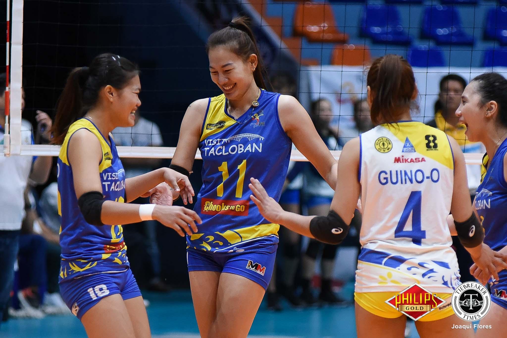 Tiebreaker Times Chooks-to-Go breaks silence on Fighting Warays rumor News PVL Volleyball  Tacloban Fighting Warays Chooks-to-Go 2018 PVL Women's Reinforced Conference 2018 PVL Season