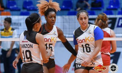 Tiebreaker Times Kia Bright, Red-hot BanKo-Perlas enters semis with immense confidence News PVL Volleyball  Perlas Lady Spikers Kia Bright Dong dela Cruz 2018 PVL Women's Reinforced 2018 PVL Season