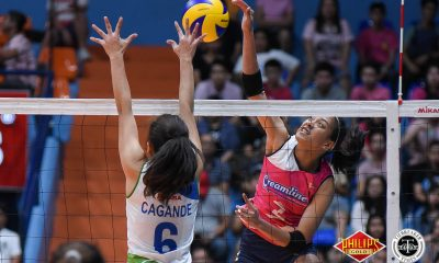 Tiebreaker Times Creamline clinches outright semis berth, slams Bali Pure-NU News PVL Volleyball  Tai Bundit Melissa Gohing Kuttika Kaewpin Jia Morado Janisa Johnson Creamline Cool Smashers Bali-Pure NU Water Defenders Bali Pure-NU Purest Water Defenders Babes Castillo Alyssa Valdez Alexis Matthews 2018 PVL Women's Reinforced Conference 2018 PVL Season