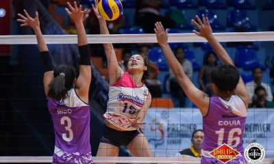 Tiebreaker Times Creamline rolls to 5th straight win, hands Iriga-Navy 5th straight loss News PVL Volleyball  Tai Bundit Melissa Gohing Macy Ubben Lauren Whyte Jia Morado Jema Galanza Iriga City-Navy Lady Oragons Edgardo Rusit Creamline Cool Smashers Alyssa Valdez 2018 PVL Women's Reinforced Conference 2018 PVL Season