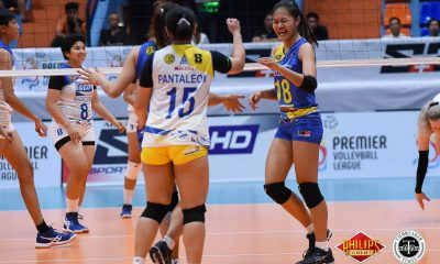 Tiebreaker Times Tacloban stumps skidding Pocari Sweat-Air Force to end elims News PVL Volleyball  Tacloban Fighting Warays Pocari Sweat-Air Force Lady Warriors Nes Pamilar Myla Pablo Kyle Negrito Jovielyn Prado Jasper Jimenez Hyapa Amporn Eunice Galang Arielle Love 2018 PVL Women's Reinforced Conference 2018 PVL Season