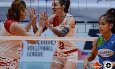 Tiebreaker Times Petro Gazz taints Bali Pure-NU for second QF win News NU PVL Volleyball  Petro Gazz Angels Jerry Yee Janisa Johnson Chie Saet Camille Cruz Bali-Pure NU Water Defenders Babes Castillo Anastasiia Trach 2018 PVL Women's Reinforced Conference 2018 PVL Season