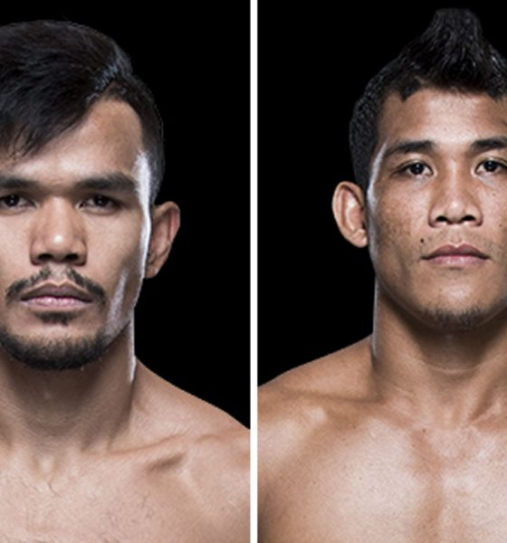 Tiebreaker Times Rolando Dy, Jenel Lausa stopped in Singapore Mixed Martial Arts News UFC  UFC Fight Night 132 Rolando Dy Jenel Lausa