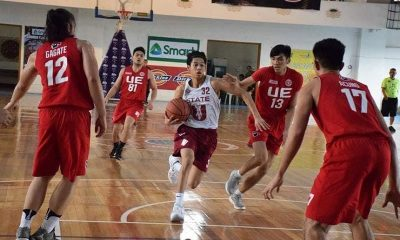 Tiebreaker Times Ricci Rivero scores 34 but UE spoils his UP debut Basketball CSJL DLSU News NU UP  Wilson Bartolome UP Men's Basketball UE Men's Basketball Ricci Rivero NU Men's Basketball Manuel L. Quezon University Stallions Letran Seniors Basketball JP Cauilan Jordan Bartlett Joe Silva Joaqui Manuel DLSU Men's Basketball David Murrell Chris Conner Anton Altamirano Allen Mina 2018 Milcu Summer Showcase