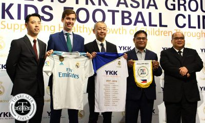 Tiebreaker Times YKK, Real Madrid to hold football clinic Football News  Real Madrid Philippine Football Federation Ed Gastanes