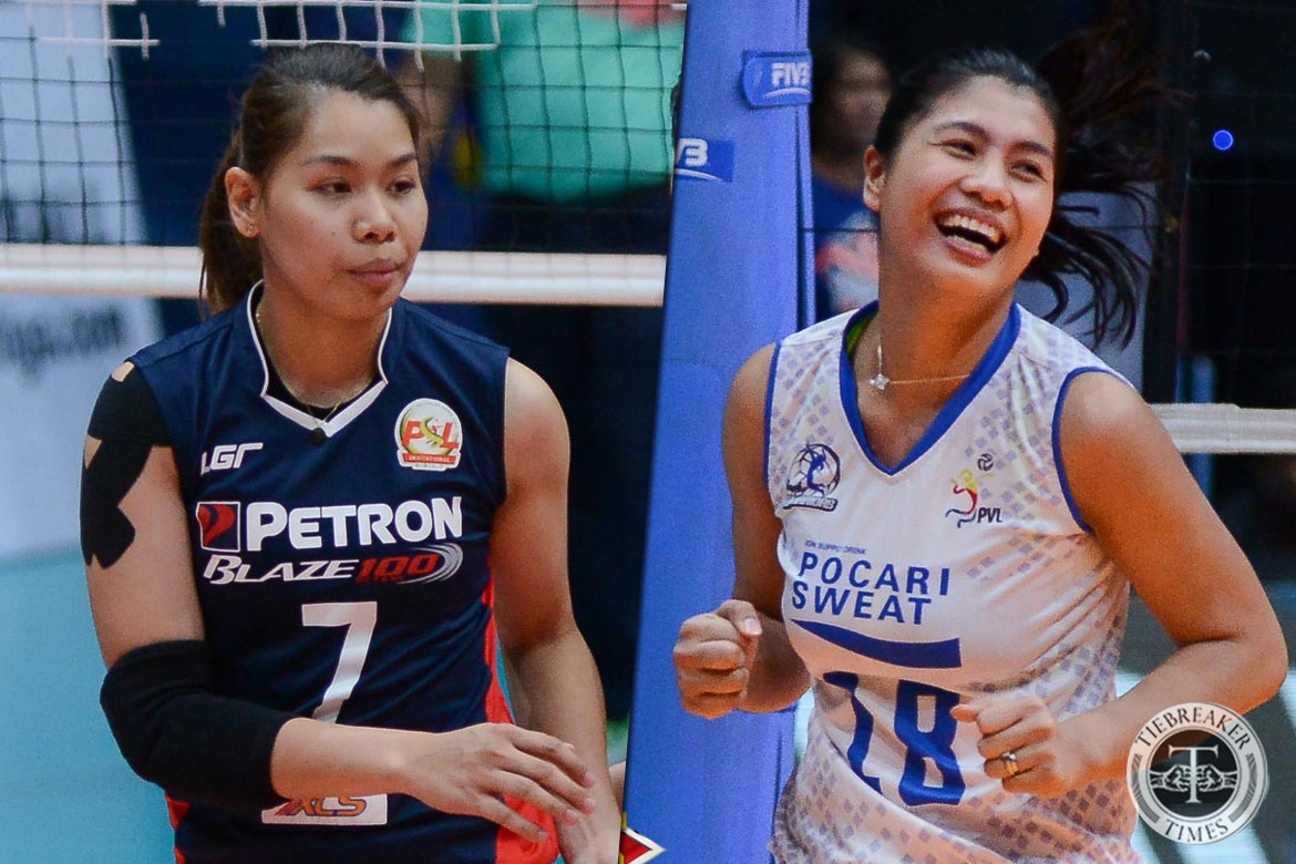 Tiebreaker Times Myla Pablo, Ces Molina beg off from National Team duty due to injury News Volleyball  Myla Pablo Larong Volleyball ng Pilipinas Inc. Ces Molina 2018 Asian Games-Volleyball