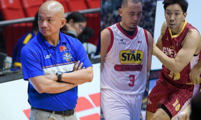 Tiebreaker Times Much-awaited Guiao-Lee-Chan reunion won't happen in Asiad Basketball Gilas Pilipinas News PBA  Yeng Guiao Samahang Basketbol ng Pilipinas Rain or Shine Elasto Painters Paul Lee Jeff Chan Al Panlilio 2018 PBA Governors Cup