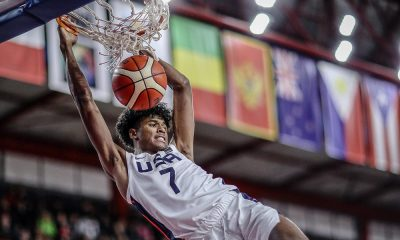 Tiebreaker Times Fil-Am Jalen Green continues rampage for Team USA Basketball News  USA (Basketball) Jalen Green FilAm Sports USA 2018 FIBA Under-17 World Cup