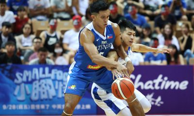 Tiebreaker Times Ateneo-Pilipinas impresses in Jones Cup debut, routs Chinese-Taipei White ADMU Basketball News  Thirdy Ravena Tab Baldwin Jolo Mendoza Chinese-Taipei (Basketball) Ateneo Men's Basketball Angelo Kouame 2018 Jones Cup
