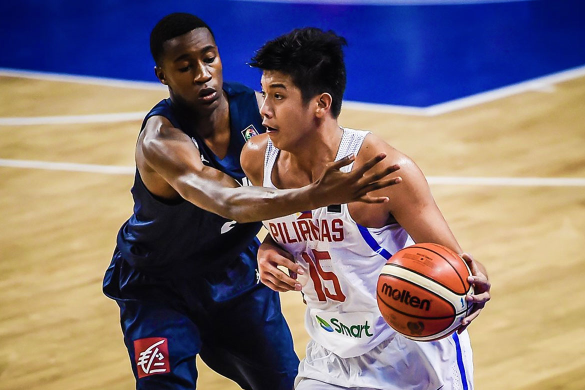 Tiebreaker Times Batang Gilas dealt 41-point rout by France Basketball Gilas Pilipinas News  Mike Oliver Kai Sotto Josh Reyes Gerry Abadiano France (Basketball) Carl Tamayo Batang Gilas 2018 FIBA Under-17 World Cup
