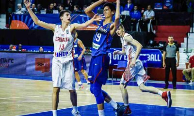 Tiebreaker Times Kai Sotto has 23-12 but Batang Gilas overwhelmed by Croatia Basketball Gilas Pilipinas News  Terrence Fortea Raven Cortez Mike Oliver Kai Sotto Croatia (Basketball) Carl Tamayo Batang Gilas 2018 FIBA U-17 World Cup