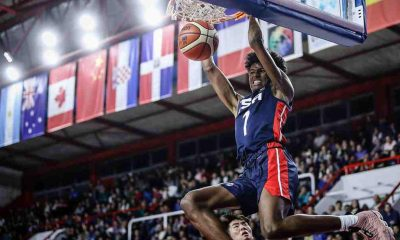 Tiebreaker Times Fil-Am Jalen Green provides highlight dunk in Team USA debut Basketball News  USA (Basketball) Jalen Green Fil-Am Sports USA 2018 FIBA Under-17 World Cup