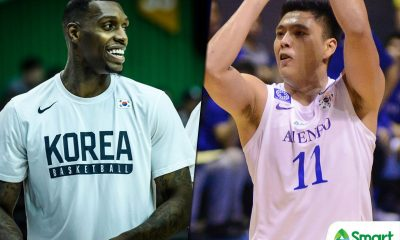 Tiebreaker Times Isaac Go excited to face South Korea's Ricardo Ratliffe: 'It's gonna be a challenge to guard him' ADMU Basketball News  South Korea (Basketball) Ricardo Ratliffe Isaac Go Ateneo Men's Basketball 2018 Jones Cup