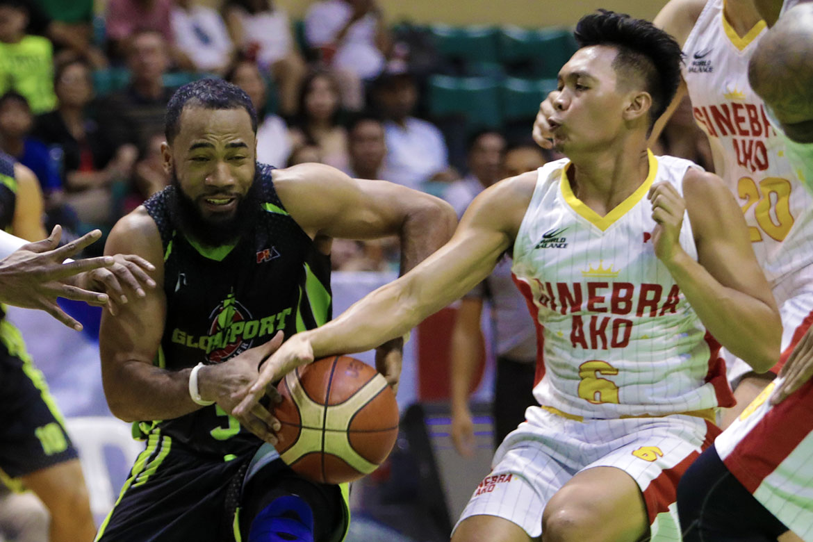 Tiebreaker Times Challenged to defend Stanley Pringle, Scottie Thompson delivers Basketball News PBA  Scottie Thompson PBA Season 43 Barangay Ginebra San Miguel 2018 PBA Commissioners Cup