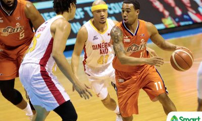 Tiebreaker Times Ginebra's size proved to be too much, laments Chris Newsome Basketball News PBA  PBA Season 43 Meralco Bolts Chris Newsome 2018 PBA Commissioners Cup