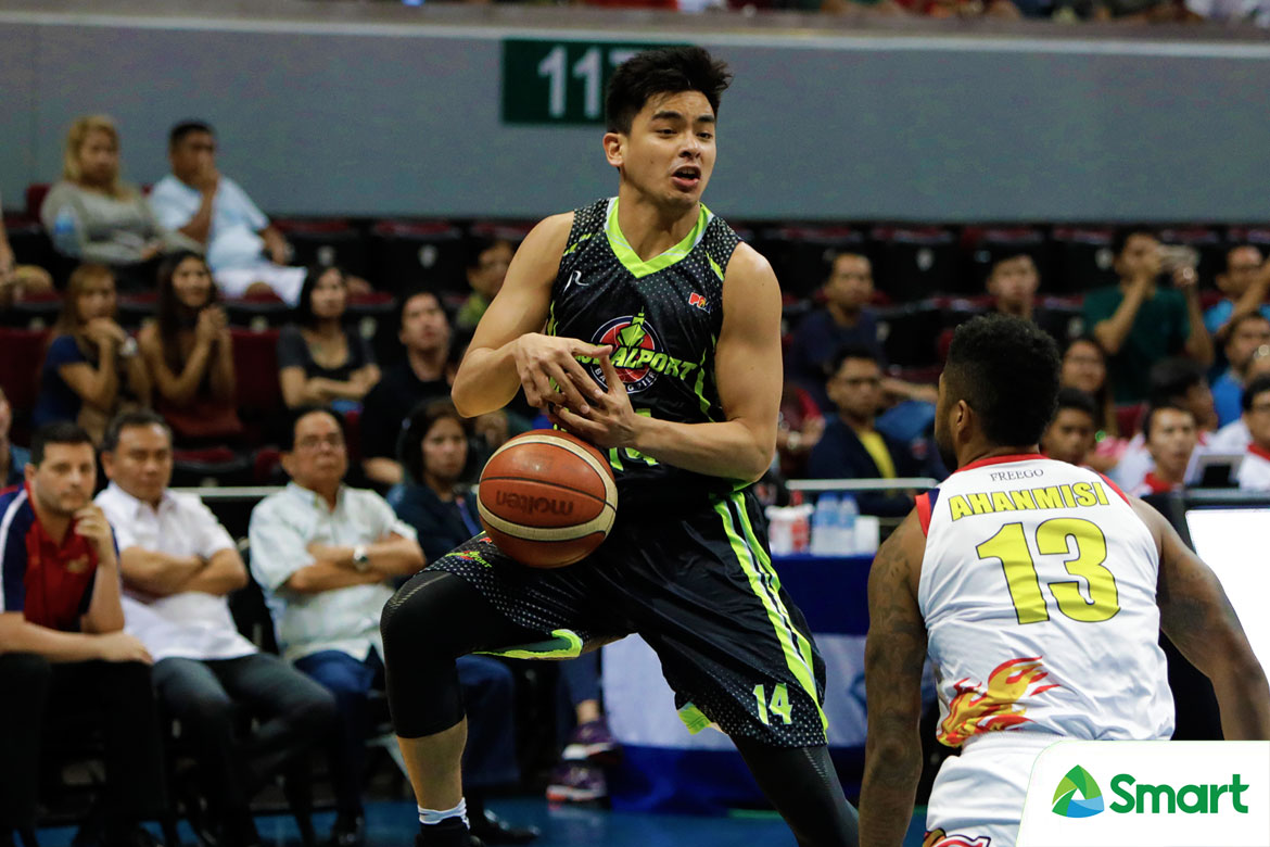 Tiebreaker Times Jonathan Grey picks up lessons after stellar QF stint Basketball News PBA  PBA Season 43 Jonathan Grey Globalport Batang Pier 2018 PBA Commissioners Cup
