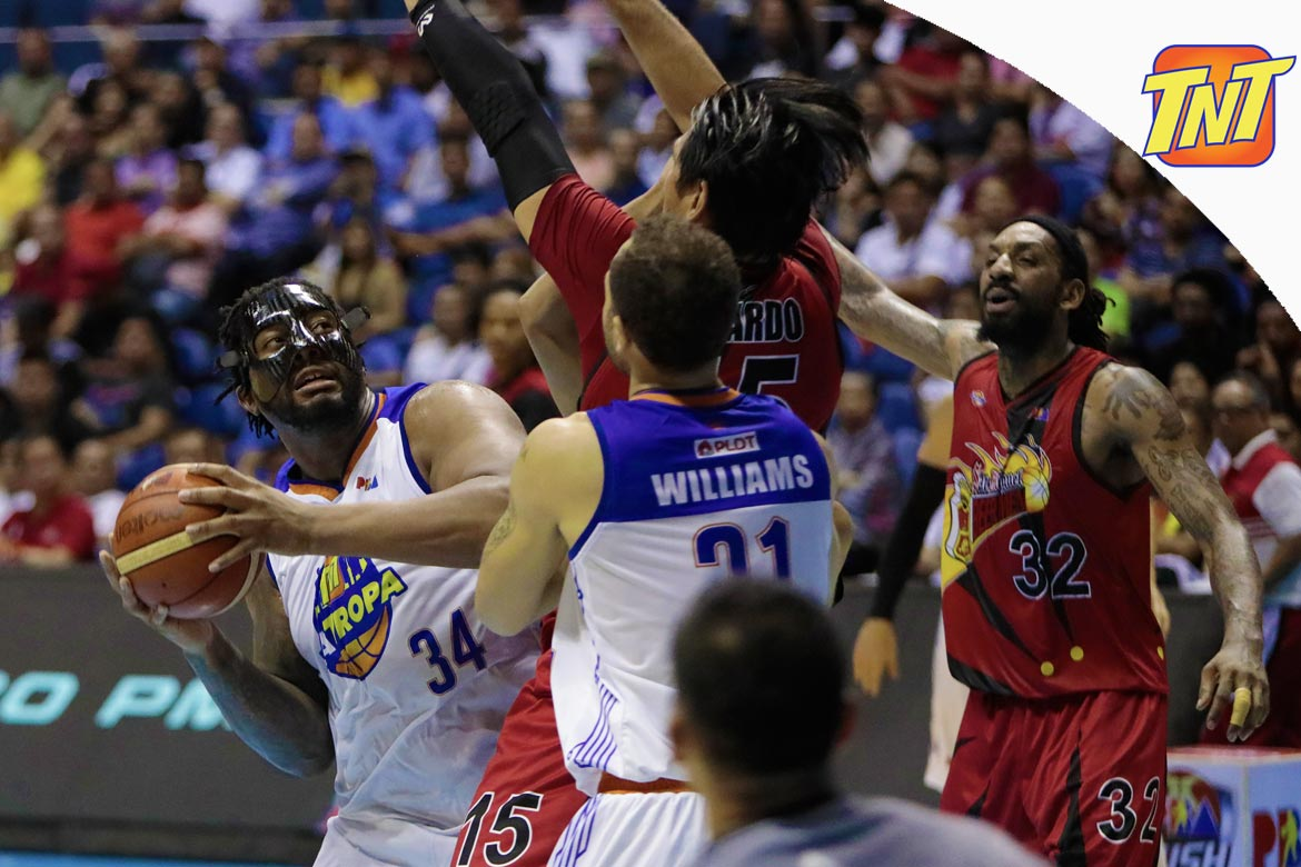 Tiebreaker Times Joshua Smith's business with TNT remains unsettled Basketball News PBA  TNT Katropa PBA Season 43 Joshua Smith 2018 PBA Commissioners Cup