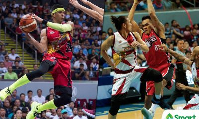 Tiebreaker Times Arwind Santos, Vic Manuel keep door open for possible Gilas call-up Basketball News PBA  Vic Manuel San Miguel Beermen PBA Season 43 Arwind Santos Alaska Aces 2018 PBA Commissioners Cup
