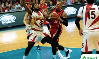 Tiebreaker Times PBA postpones San Miguel-Alaska Game 3 to Friday Basketball News PBA  San Miguel Beermen PBA Season 43 Alaska Aces 2018 PBA Commissioners Cup