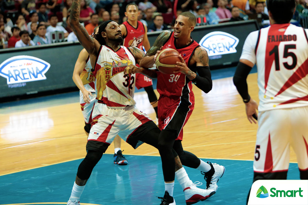 Tiebreaker Times Winning championship more challenging than before, admits Diamon Simpson Basketball News PBA  PBA Season 43 Diamon Simpson Alaska Aces 2018 PBA Commissioners Cup