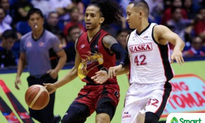 Tiebreaker Times Beermen's crisp ball movement led to his pivotal treys, says Chris Ross Basketball News PBA  San Miguel Beermen PBA Season 43 Chris Ross 2018 PBA Commissioners Cup