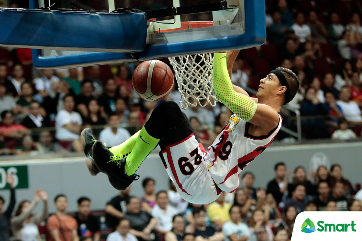 Tiebreaker Times Arwind Santos believes Beermen's eagerness to end semis got the best of them Basketball News PBA  San Miguel Beermen PBA Season 43 Arwind Santos 2018 PBA Commissioners Cup