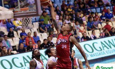 Tiebreaker Times Diamon Simpson admits ankle injury is 'bothersome' Basketball News PBA  PBA Season 43 Diamon Simpson Alaska Aces 2018 PBA Commissioners Cup