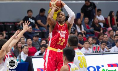 Tiebreaker Times Justin Brownlee on 44-point outing: 'Every time I shot, I felt it was going in' Basketball News PBA  PBA Season 43 Justin Brownlee Barangay Ginebra San Miguel 2018 PBA Commissioners Cup