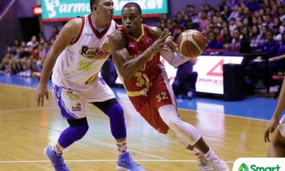 Tiebreaker Times Justin Brownlee welcomes challenge of defending James Yap Basketball News PBA  PBA Season 43 Justin Brownlee Barangay Ginebra San Miguel 2018 PBA Commissioners Cup