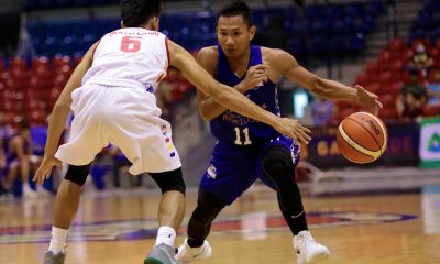 Tiebreaker Times Jeff Viernes knocks down 7 treys, leads Che'Lu's romp of AMA Basketball News PBA D-League  Stevenson Tiu Levi Hernandez Ken Soriano John Carlo Garcia Jeff Viernes Che'Lu Revellers André Paras AMA Online Education Titans 2018 PBA D-League Season 2018 PBA D-League Foundation Cup