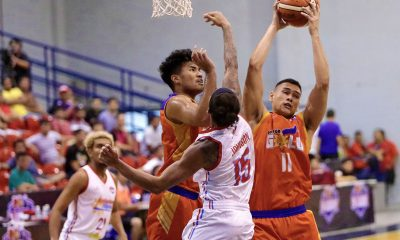 Tiebreaker Times Matt Salem, Go for Gold draw first blood against Marinerong Pilipino-TIP Basketball News PBA D-League  Trevis Jackson Matt Salem Marinerong Pilipino-TIP Skippers Koy Banal Jerick Canada Jai Reyes Go-for-Gold Scratchers Charles Tiu Abu Tratter 2018 PBA D-League Season 2018 PBA D-League Aspirants Cup