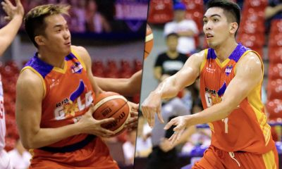 Tiebreaker Times Paul Desiderio, Ron Dennison close chapter in friendly rivalry Basketball News PBA D-League  Ron Dennison Paul Desiderio Go-for-Gold Scratchers 2018 PBA D-League Season 2018 PBA D-League Foundation Cup