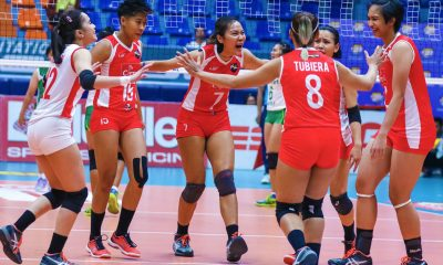 Tiebreaker Times Cignal HD goes back-to-back with quick win over Sta. Lucia News PSL Volleyball  Sta. Lucia Lady Realtors Souzan Raslan Rachel Daquis Mylene Paat Jho Maraguinot Jeck Dionela George Pascua Edgar Barroga Cignal HD Spikers Acy Masangkay 2018 PSL Season 2018 PSL All Filipino Conference
