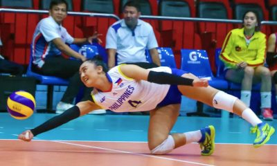 Tiebreaker Times National Team sweeps exhibition matches after surging past Smart News PSL Volleyball  SMART Prepaid Giga Hitters Shaq delos Santos Philippine Women's National Volleyball Team Nene Bautista Mylene Paat Lutgarda Malaluan Kungfu Reyes Jaja Santiago Denden Lazaro Becca Rivera 2018 PSL Season 2018 PSL Invitational Cup