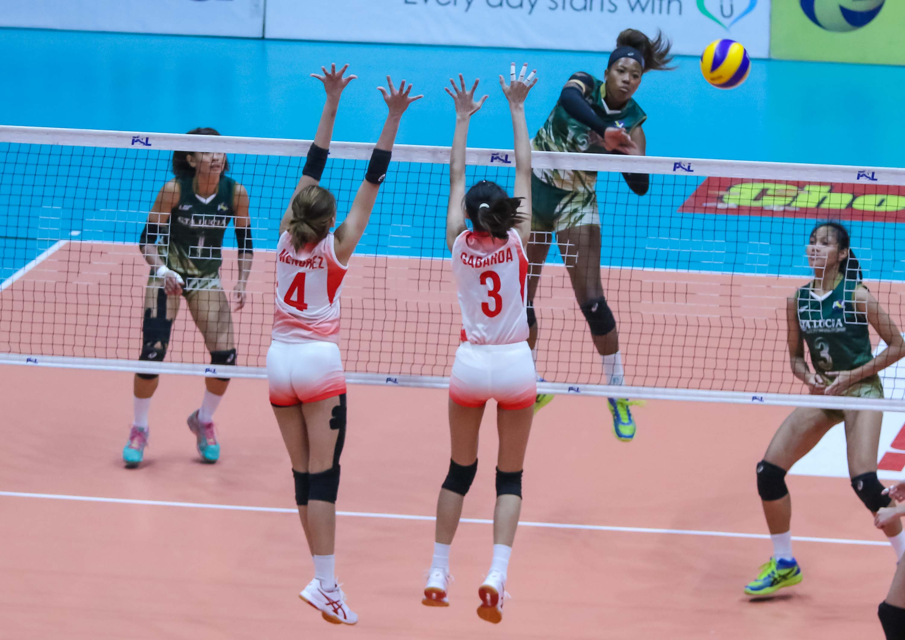 Tiebreaker Times Sta. Lucia evens record, steps closer to quarters berth News PSL Volleyball  Sta. Lucia Lady Realtors Rod Roque Rebecca Rivera MJ Phillips Mary Anne Mendrez Judith Abil Jonah Sabete Jackie Estoquia George Pascua Cherrylume Iron Lady Warriors 2018 PSL Season 2018 PSL Invitational Cup