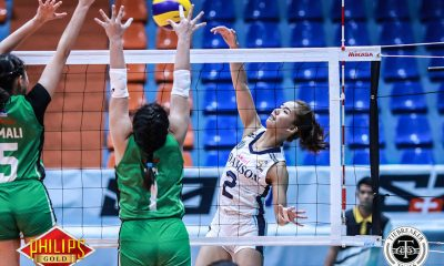 Tiebreaker Times Highly-touted Trisha Genesis debuts for Lady Falcons AdU News PVL Volleyball  Trisha Genesis Airess Padda Adamson Women's Volleyball 2018 PVL Women's Collegiate Conference 2018 PVL Season